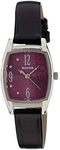 Sonata NG87003SL03AC Analog Purple Dial Women's Watch (NG87003SL03AC)