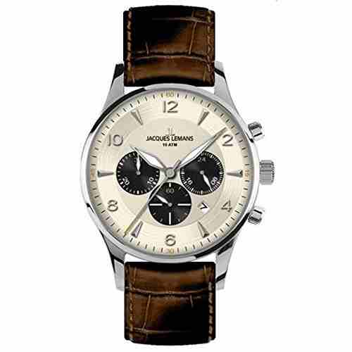 Jacques Lemans 1-1654E Classic Analog Watch