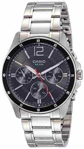 Casio Enticer MTP-1374D-1AVDF (A832) Black Dial Men's Watch