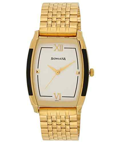 Sonata NH7080YM01C Analog Watch