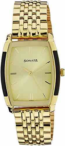Sonata NG7080YM02C 7080YM02 Analog Watch (NG7080YM02C)