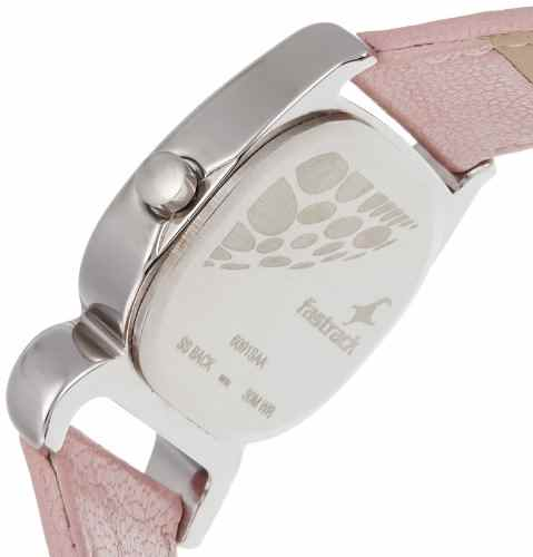 Fastrack 6091SL01 Fits and Forms Analog Silver Dial Women's Watch