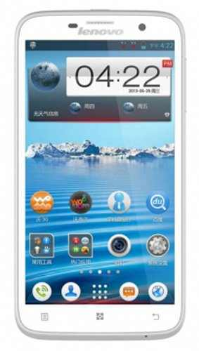 Lenovo A850 4 GB White Mobile