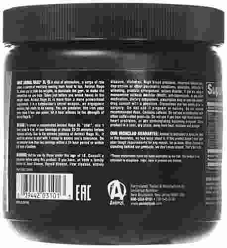 Universal Nutrition Animal Rage XL (154gm, Grape)