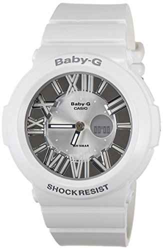 Casio Baby-G BGA-160-7B1DR (B145) Analog-Digital White Dial Women's Watch