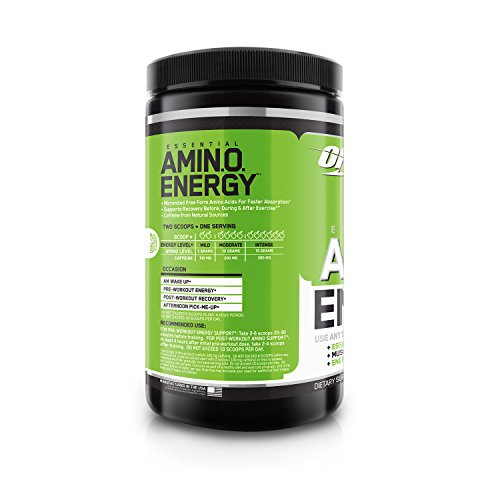 Optimum Nutrition Amino Energy (270gm / 0.6lbs, Apple)