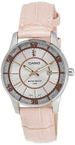Casio Enticer LTP-1358L-4AVDF (A808) Analog Silver Dial Women's Watch (LTP-1358L-4AVDF (A808))