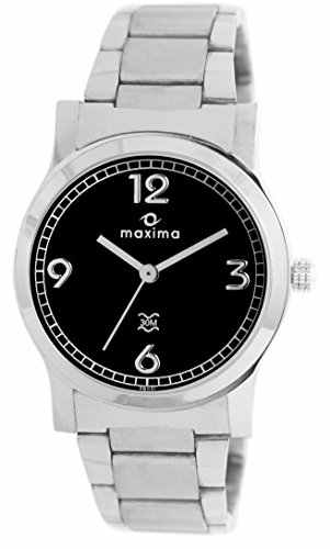 Maxima 28021CMLI Swarovski Analog Watch