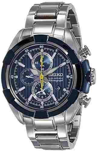 Seiko SNAF41P1 Velatura Analog Watch