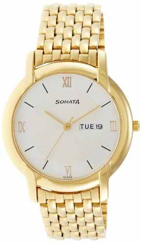 Sonata NF7954YM01J Analog Watch (NF7954YM01J)
