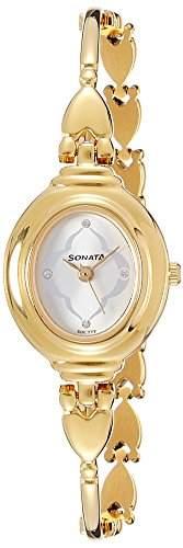 Sonata 8092YM03C Analog Watch