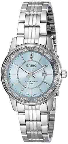 Casio Enticer LTP-1358D-2AVDF (A804) Analog Blue Dial Women's Watch