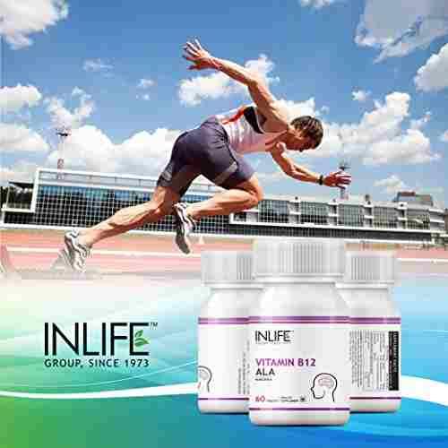Inlife Vitamin B12 Alpha Lipoic Acid Ala (60 Capsules)