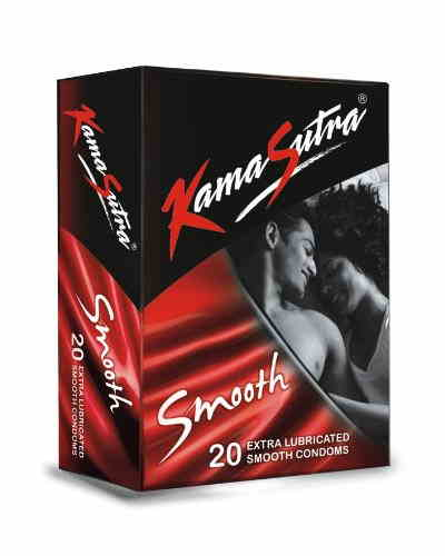 Kamasutra Smooth Condoms (20 Condoms)