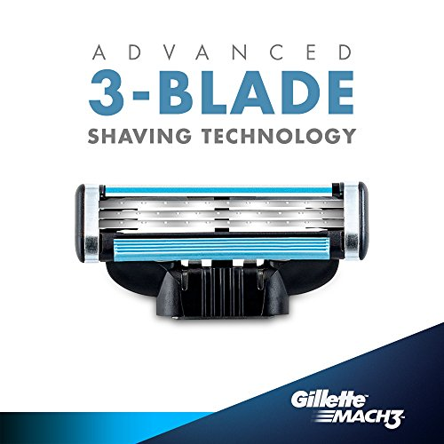 Gillette Mach 3 Shaving Razor Blades Cartridge 6s