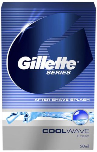Gillette Series Cool Wave After Shave Splash, 50 ML