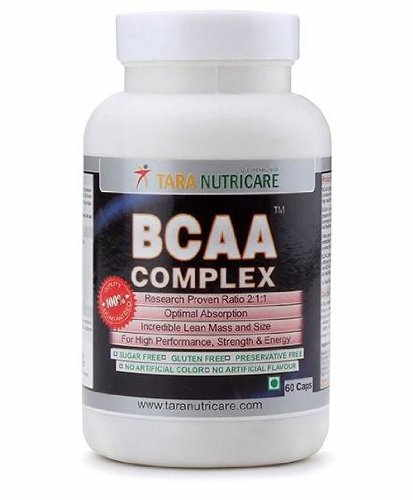 Tara Nutricare BCAA Complex Supplements (60 Capsules)
