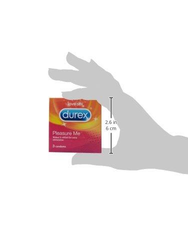 Durex Pleasure Me Condom (3 Condoms)