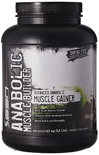SSN Anabolic Muscle Builder (2.49Kg, Chocolate)