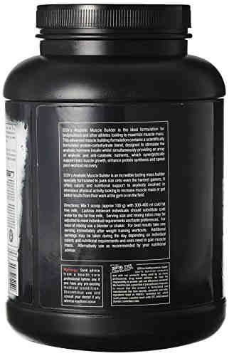 SSN Anabolic Muscle Builder Supplement (2.49Kg, Vanilla)