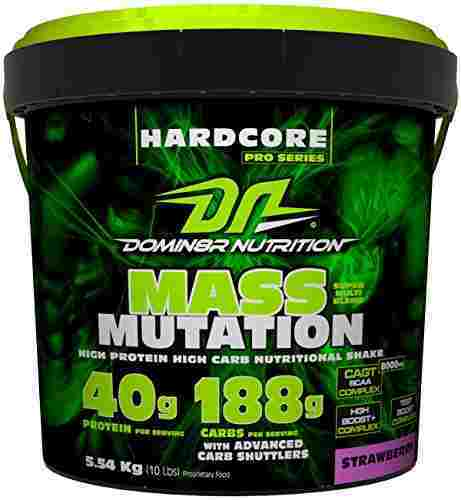 DN Mass Mutation Supplements (4.53Kg, Strawberry)
