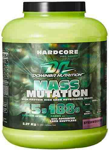 DN Mass Mutation Supplements (2.26Kg, Strawberry)