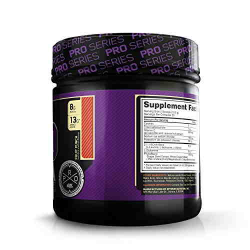 Optimum Nutrition Pro BCAA (0.86lbs, Fruit Punch)