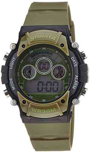 Sonata 77006PP01 Digital Watch (77006PP01)
