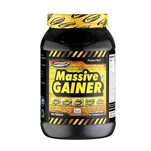 Olympia Massive weight gainer (1Kg, Chocolate)