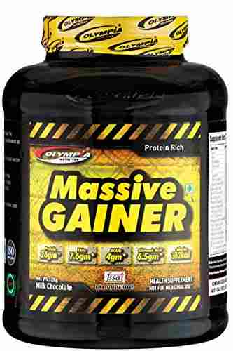 Olympia Massive weight gainer (2Kg / 4.41lbs, Chocolate)