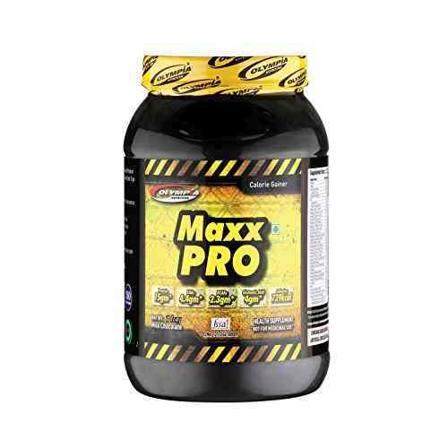 Olympia Maxx Pro Chocolate Dietary Supplement (1Kg, Chocolate)