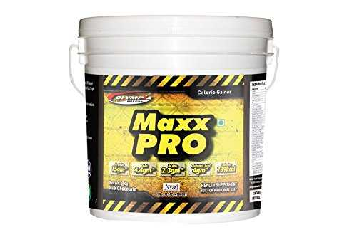 Olympia Maxx Pro Chocolate Dietary Supplement (4Kg, Chocolate)