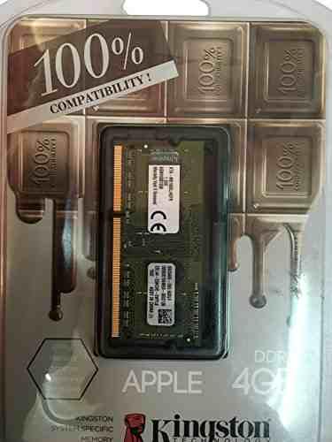 Kingston (KTA-MB1600L/4GFR) DDR3 4GB Mac RAM