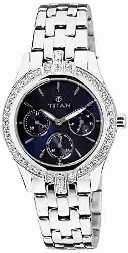 Titan Purple 9968SM01J Analog Watch
