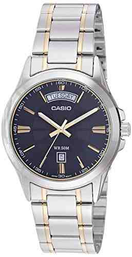 Casio Enticer MTP-1381G-1AVDF (A842) Analog Black Dial Men's Watch (MTP-1381G-1AVDF (A842))