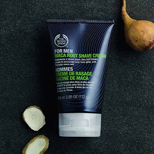The Body Shop for Men Maca Root Shave Cream,125ml