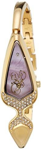 Maxima 21983BMLY Gold Analog Watch