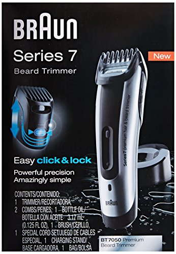 Braun Series 7 7050 Beard Trimmer