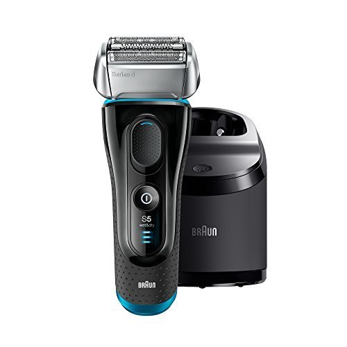 Braun Series 5 5090cc Electric Cordless Foil Shaver  With Clean & Charge Station