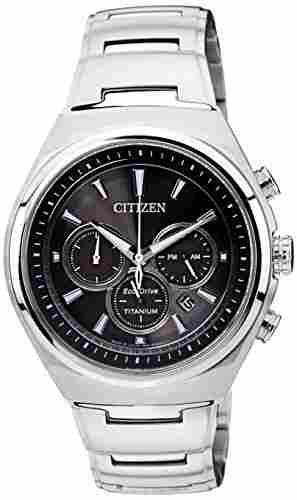 Citizen Eco-Drive CA4021-51E Analog Black Dial Men's Watch (CA4021-51E)