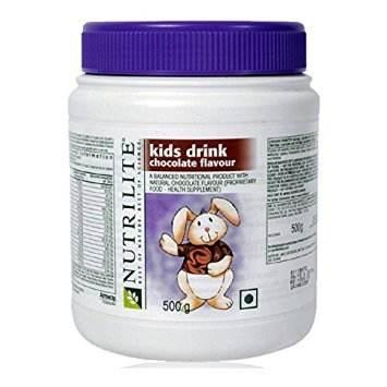 Amway Nutrilite Kids Drink (500gm / 1.11lbs, Chocolate)