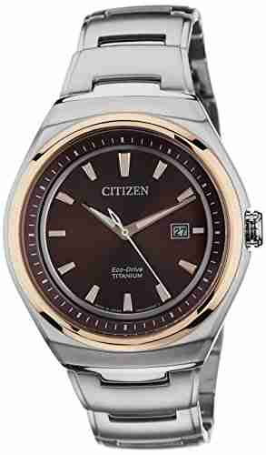Citizen AW1255-50W Analog Brown Dial Men's Watch (AW1255-50W)