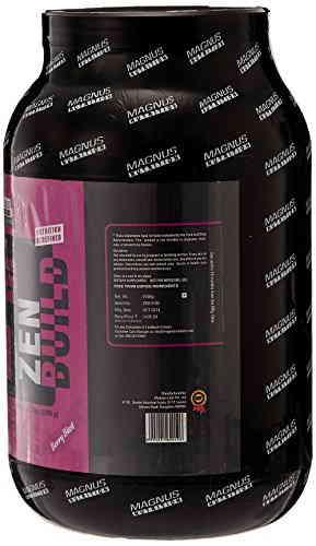 Magnus Nutrition Zen Build (1Kg, Berry Blast)