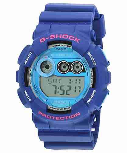 Casio G-Shock GD-120TS-2DR (G504) Digital Blue Dial Men's Watch (GD-120TS-2DR (G504))