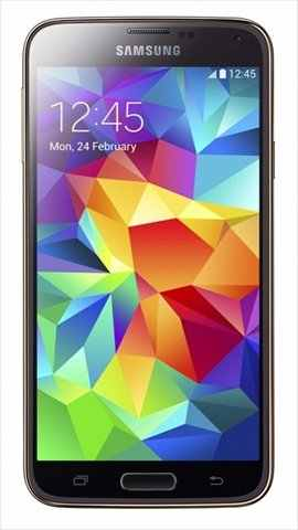 Samsung Galaxy S5 16GB Copper Gold Mobile