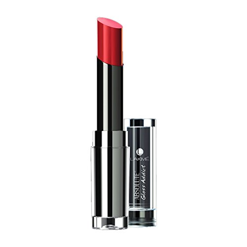 Lakme Absolute Gloss Addict Lipstick Orange Candy