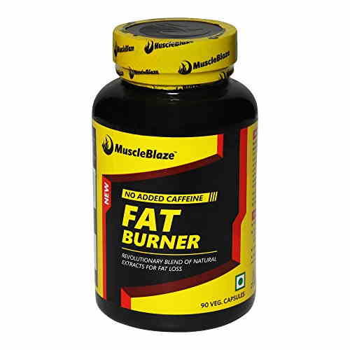MuscleBlaze Fat Burner with Garcinia Cambogia Supplement (750 mg, 90 Veg Capsules)
