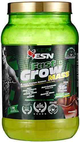 ESN Fast Grow Mass Gainer (1Kg, Chocolate)