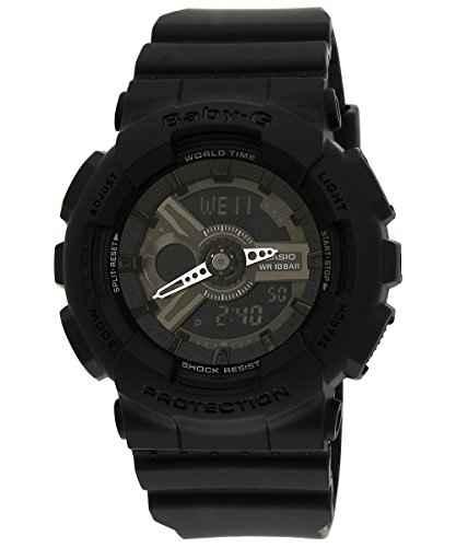Casio Baby-G BA-110BC-1ADR (BX023) LED light Analog-Digital Black Dial Women's Watch (BA-110BC-1ADR (BX023))