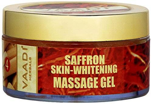 Vaadi Herbals Saffron Skin Whitening Massage Gel (50ml)